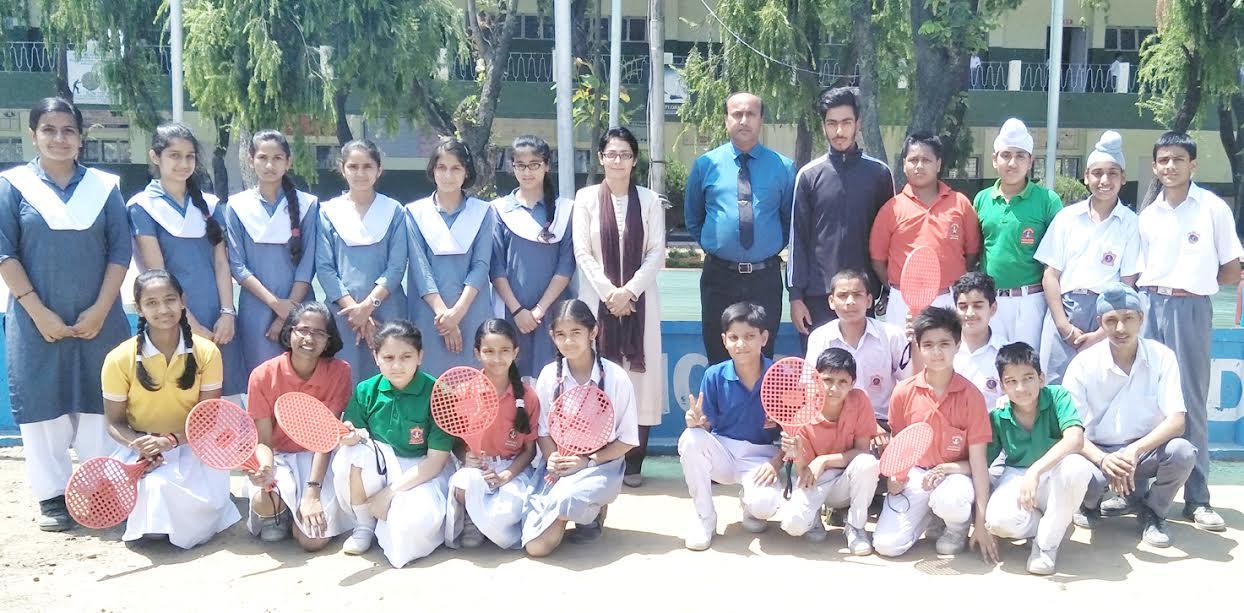 APS Udhampur school brings laurels in U-14/17 yrs